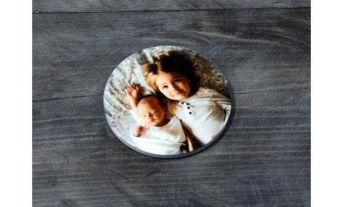 Personalised Ceramic Round Coaster