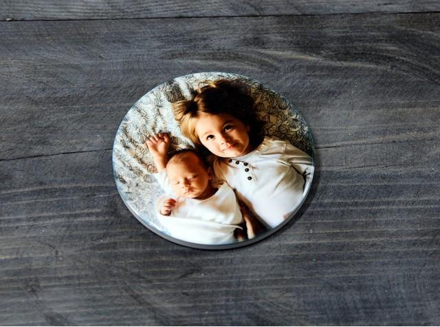 Personalised Ceramic Round Coaster