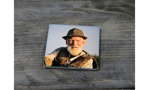 Personalised Ceramic Square Coaster